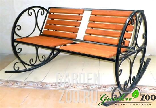 Кресло качалка из металла 881-42R - фото 15348