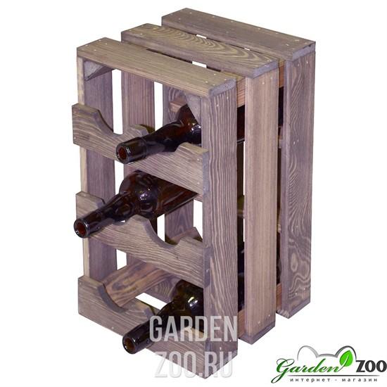 ящик деревянный для бутылок