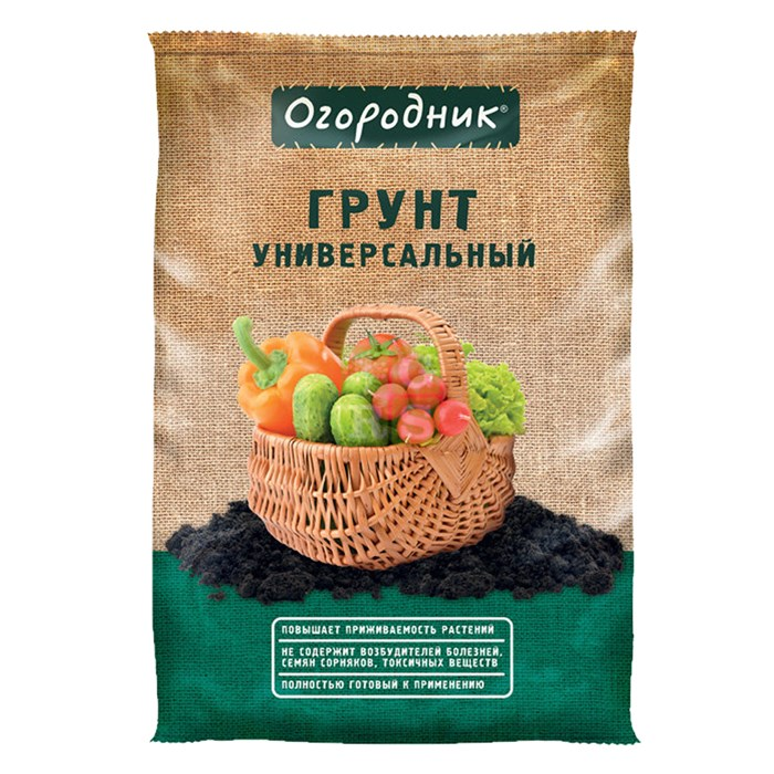 Грунт Огородник Универсал 60л