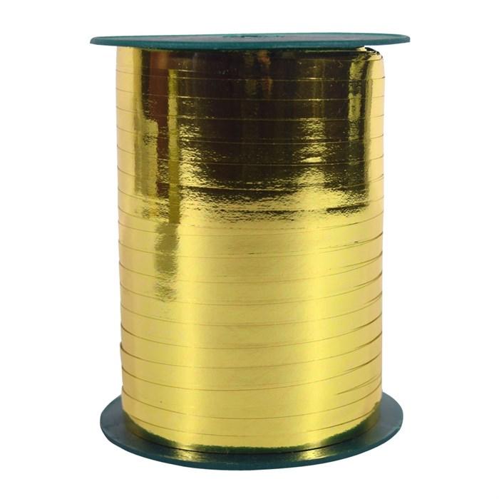 Лента металл золотой