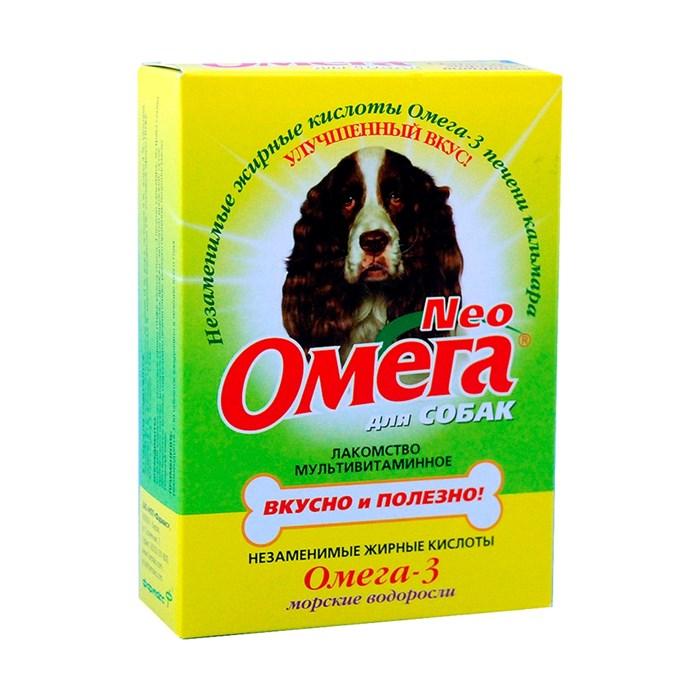 Лакомство Омега Нео для собак морские водоросли