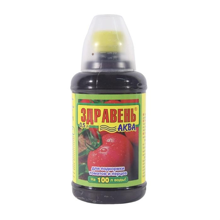 Удобрение Здравень Аква для томатов и перцев