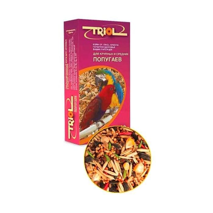 Корм ТРИОЛ для крупных и средних попугаев