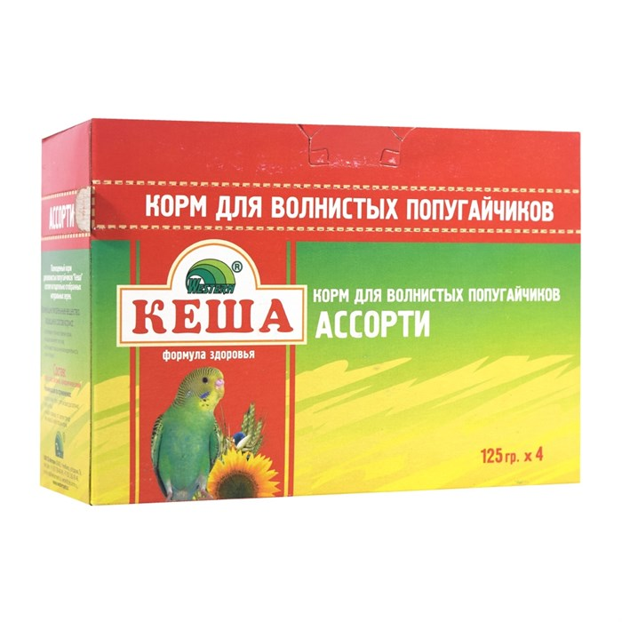 Корм КЕША Ассорти для попугаев