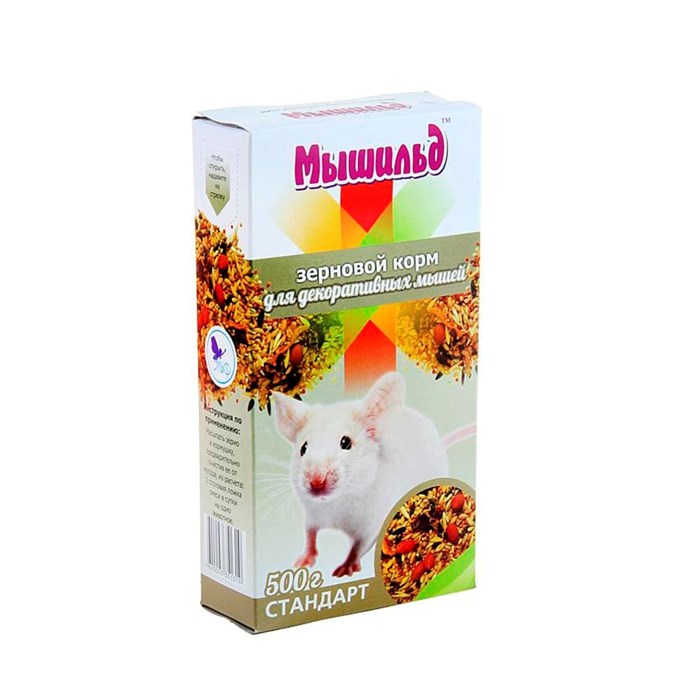 Корм Мышильд для декоративных Мышей Стандарт 500гр