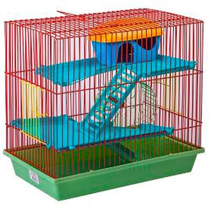 Клетка Гризли для грызунов 3-х этажная (130)