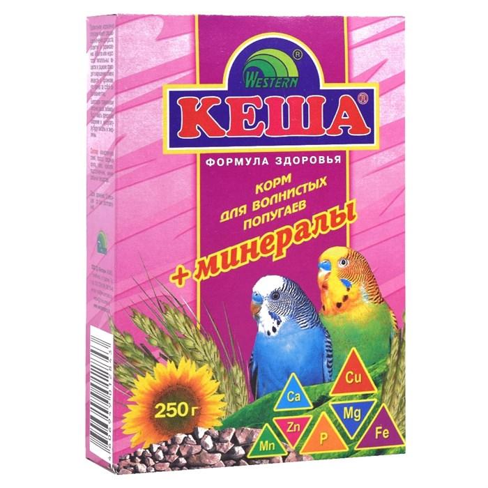 Корм КЕША для попугаев 250г (минералы)