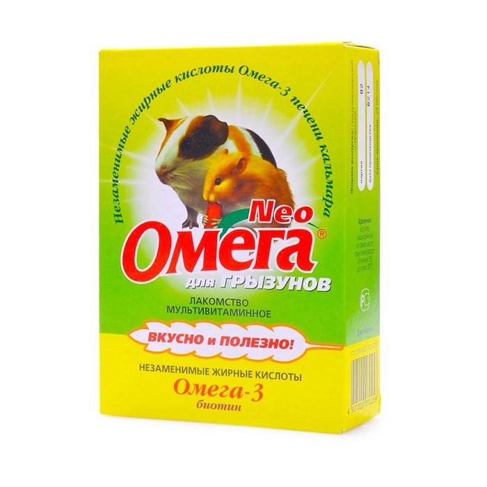 Омега Нeo витамины для грызунов (биотин)