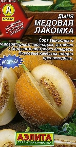 Дыня Медовая лакомка - фото 27946