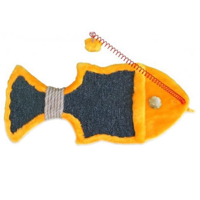 Когтеточка ГРИЗЛИ Золотая рыбка малая настенная