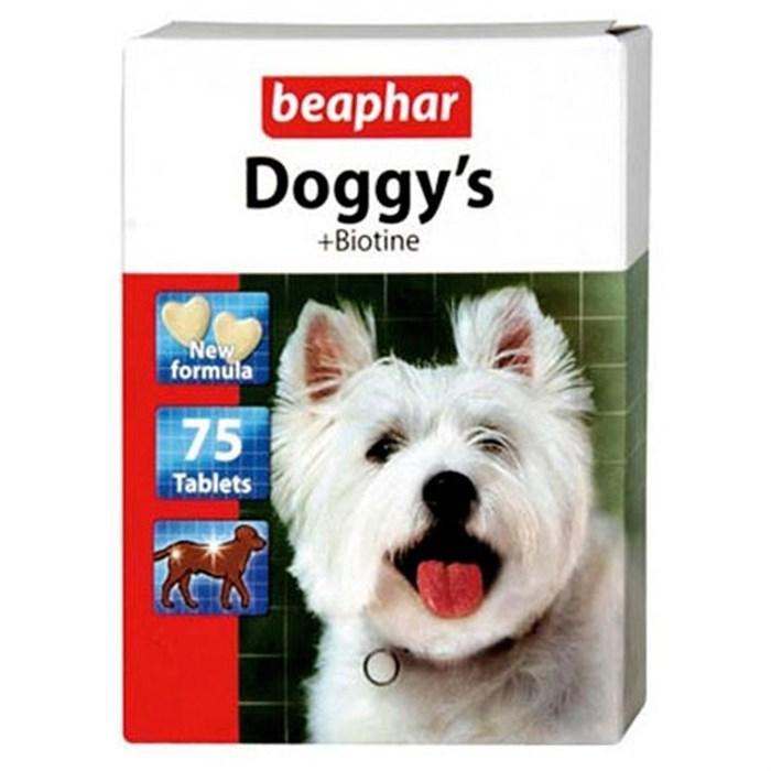 Лакомство БЕАФАР для собак 75т биотин