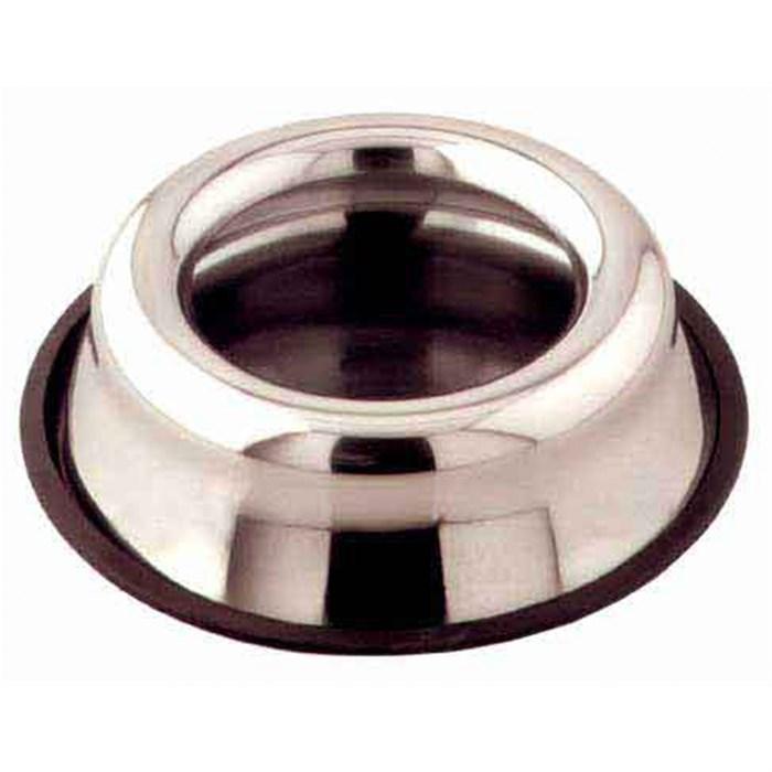 Миска металлическая NS-520 на резинке 0,9л