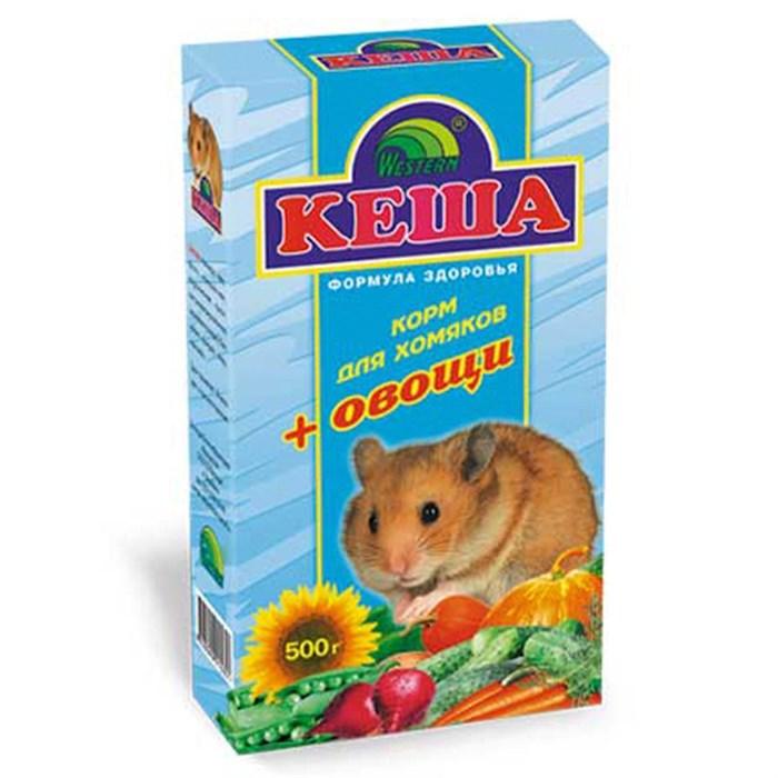 Корм КЕША для хомяков 500г (овощи)