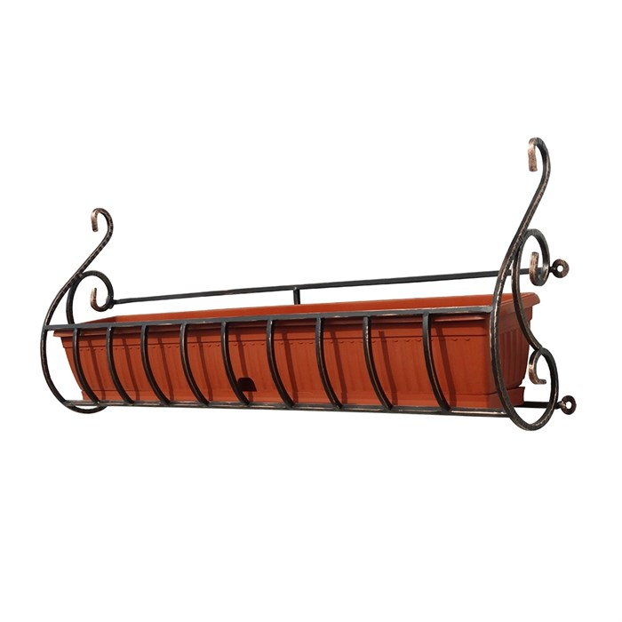 Для балконных ящиков подставка