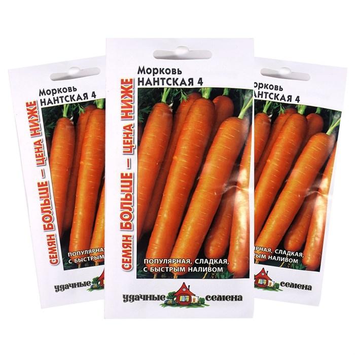Морковь Нантская 4 4,0г