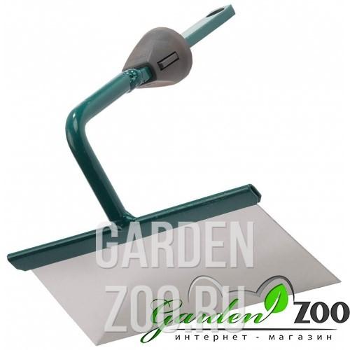 Мотыжка садовая RACO из нерж. стали, трапеция, с быстрозажимным механизмом, 160 мм - фото 9881