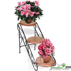 подставка для цветов 3 места