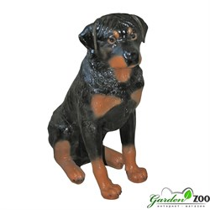 ротвейлер собака фигура