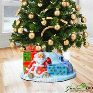 Подставка елочная Дед мороз и снеговик