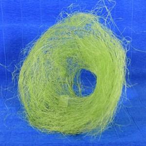 Каркас для букета 25см сизаль гнездо зеленое яблоко