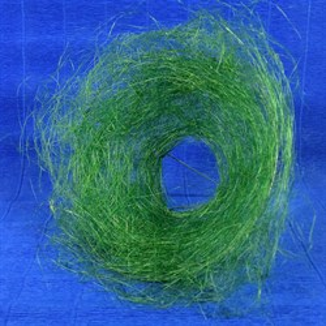 Каркас для букета 25см сизаль гнездо зеленый