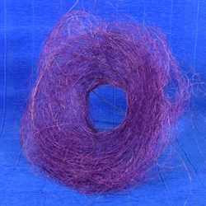 Каркас для букета 25см сизаль гнездо сиреневый