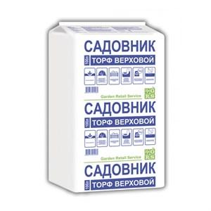 Торф Садовник верховой 100л