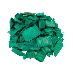 Декоративная щепа 60л зеленая