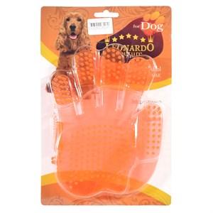 Перчатка резиновая для шерсти собак