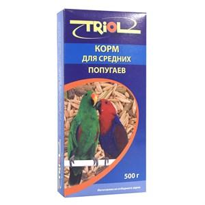 Корм ТРИОЛ для средних попугаев