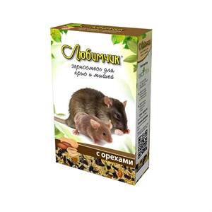 Корм ЛЮБИМЧИК для крыс 400г (орех)