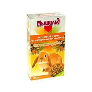 Корм Мышильд для кроликов Морковная забава