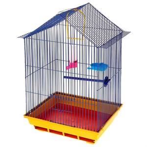 Клетка для птиц Большой домик комплект