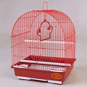 Клетка ЗК для птиц 100 цветная 30*23*39см