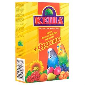 Корм КЕША для попугаев 250г (фрукты)