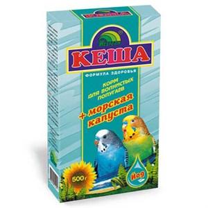 Корм КЕША для попугаев 500г (морская капуста)