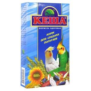 Корм КЕША для средних попугаев 500г