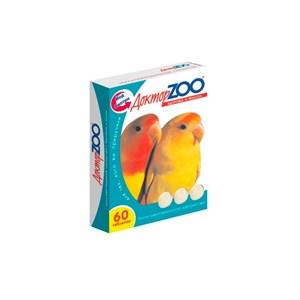 Лакомство ДОКТОР ЗОО для птиц 60таб