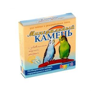 Минеральный камень ПЕРРИКО для птиц с ракушечником