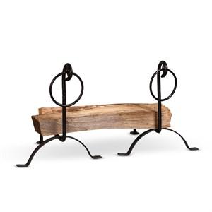 Кованые держатели для дров