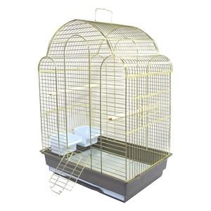 Клетка ЗК д/птиц 700AG 42*30*57см золото