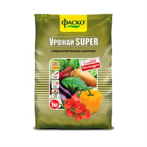Удобрение Урожай Супер 1кг универсальное