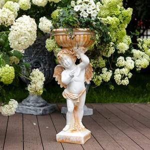 Фигура ангел с вазой (аренда)