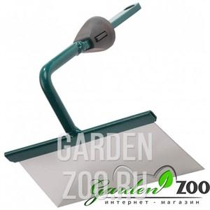 Мотыжка садовая RACO из нерж. стали, трапеция, с быстрозажимным механизмом, 160 мм