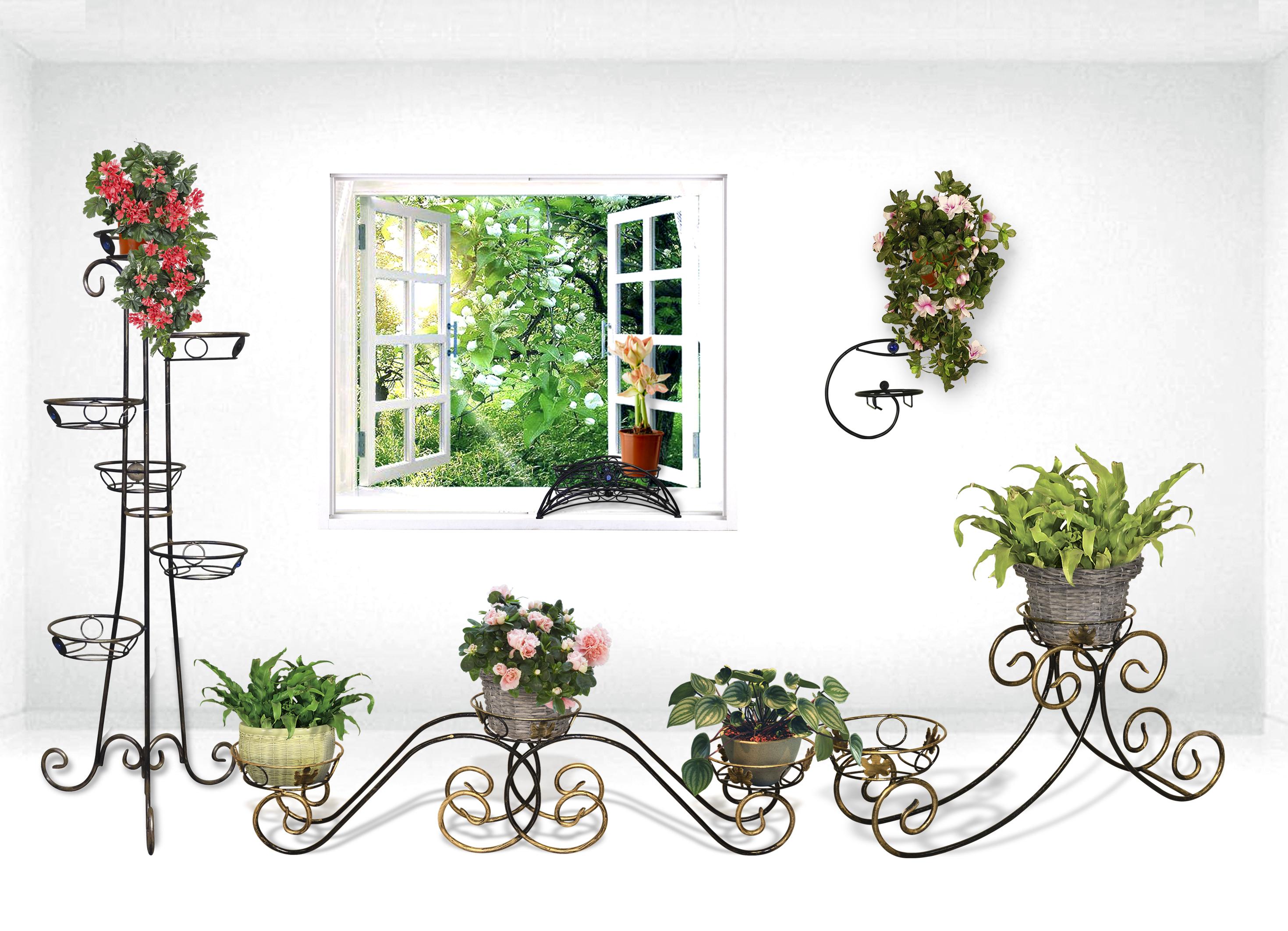 Все фото всех напольных подставок под цветы из дерева и их цены