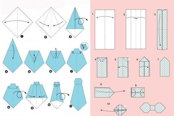 Макет из бумаги схемы