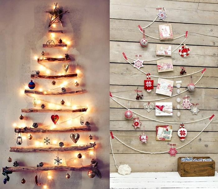 Что используют на Новый год вместо елки?