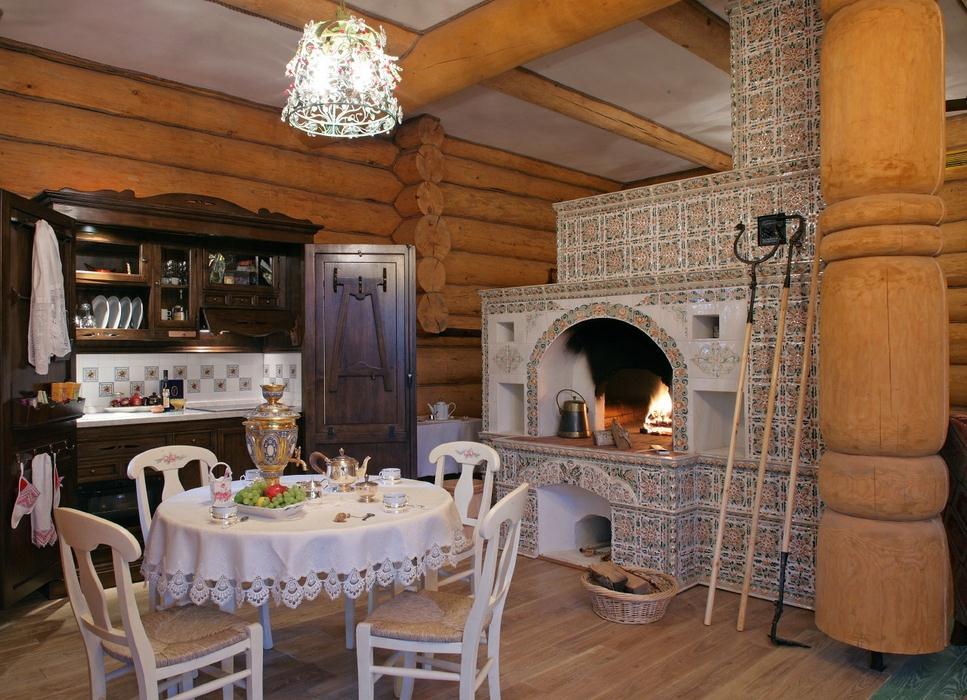 Кухня в стиле хохлома своими руками