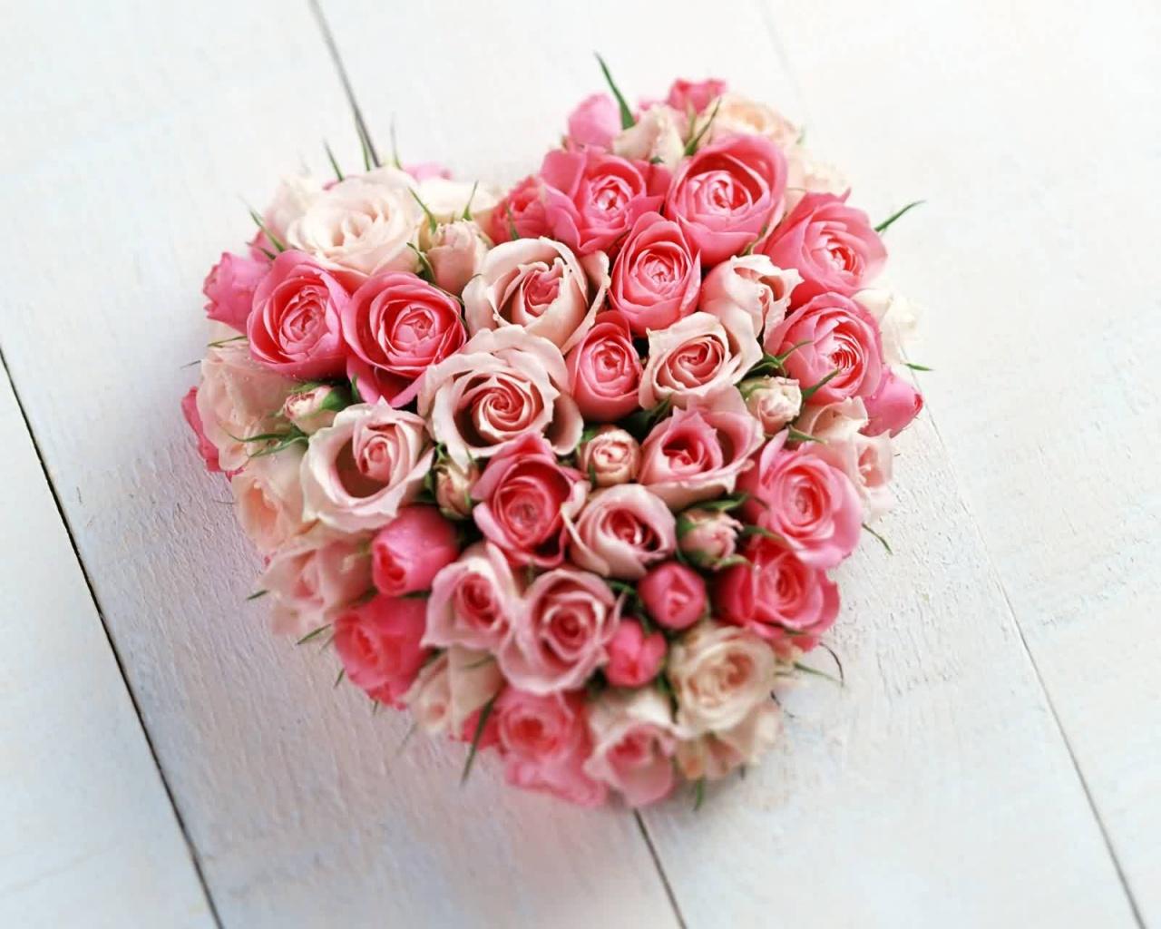 Самая красивая из цветами