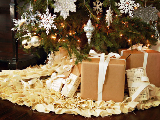 Подарок под елку своими руками